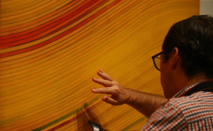 Fotos de 'Cantándote bajito', de Ignacio Tovar, en el CAC