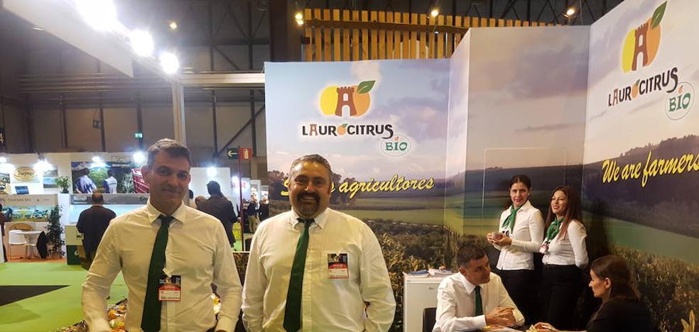 Laurocitrus Bio, una empresa familiar de Álora realiza interesantes contactos en Fruit Attraction