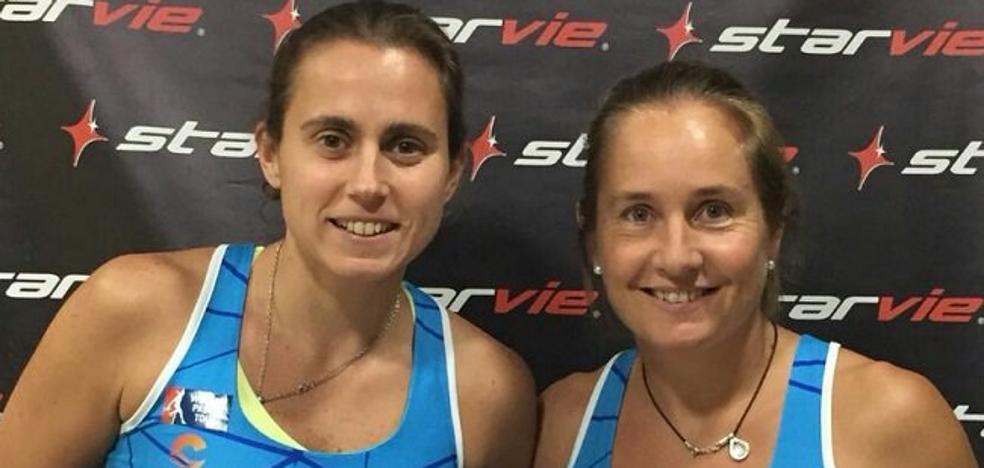 La rodilla deja a Carolina Navarro fuera del Campeonato de España de Pádel