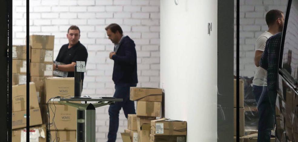 La Guardia Civil recaba documentos en el Centro de Telecomunicaciones de la Generalitat