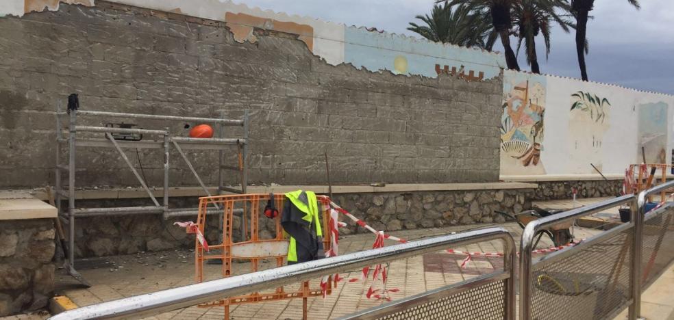 Restauran los murales del paseo torreño
