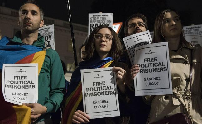 El independentismo exhibirá otra vez músculo en la calle a las puertas de que llegue el 155