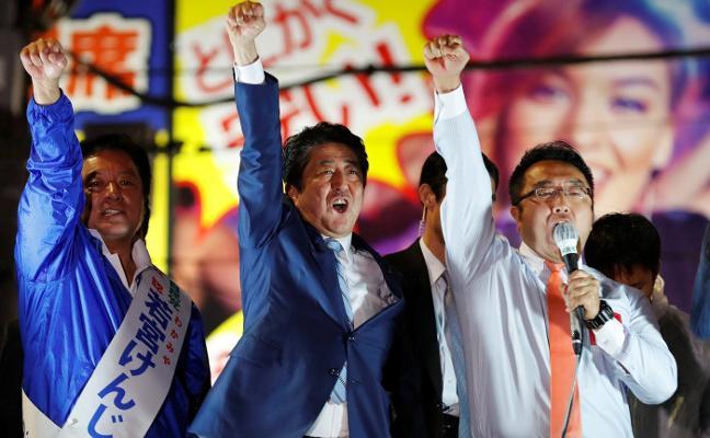 El órdago de Shinzo Abe