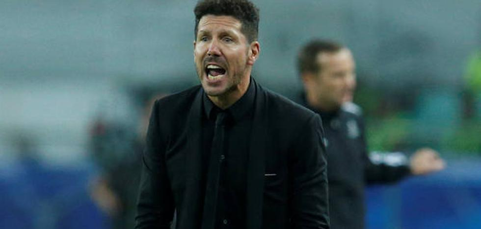 Simeone: «Estoy muy contento con Carrasco, es un jugador determinante»