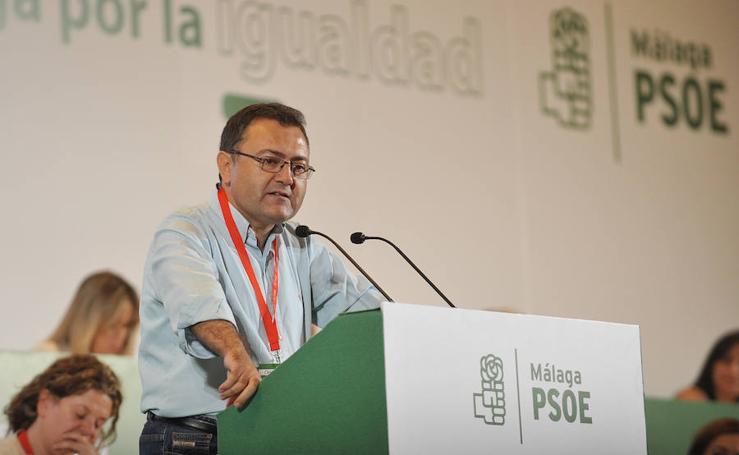 El congreso del PSOE de Málaga, en imágenes