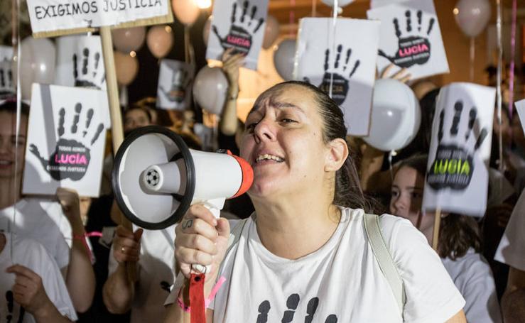 """Alhaurín el Grande marcha para pedir """"Justicia para Lucía Vivar"""""""