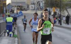 El Mouaziz continúa con su reinado en la Carrera Urbana Ciudad de Málaga