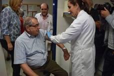 Los centros de salud de Málaga ya vacunan contra la gripe a la población de riesgo