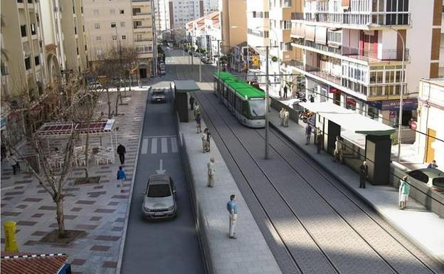 Recreación del metro al Civil /SUR
