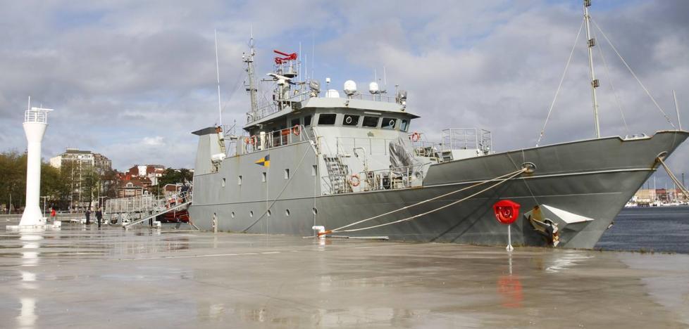 Un cambio de última hora por seguridad obliga a cancelar las visitas al patrullero de la Armada 'Arnomendi' en Málaga