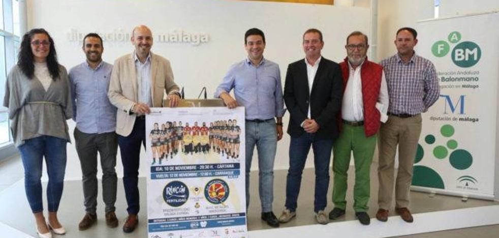 El histórico debut europeo del Rincón Fertilidad, en Cártama y Carranque