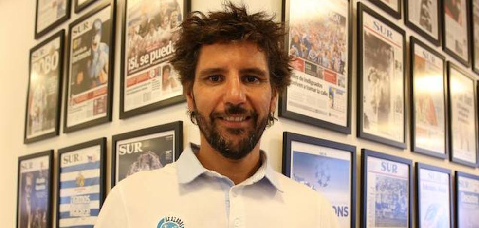 Christian Jongeneel comienza su travesía solidaria desde Tenerife a Las Palmas