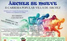 Árchez inaugura el V Circuito Provincial de Carreras Populares