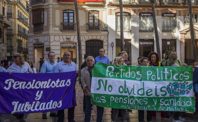 'YAYOFLAUTAS' SE CONCENTRAN EN DEFENSA DE LAS PENSIONES