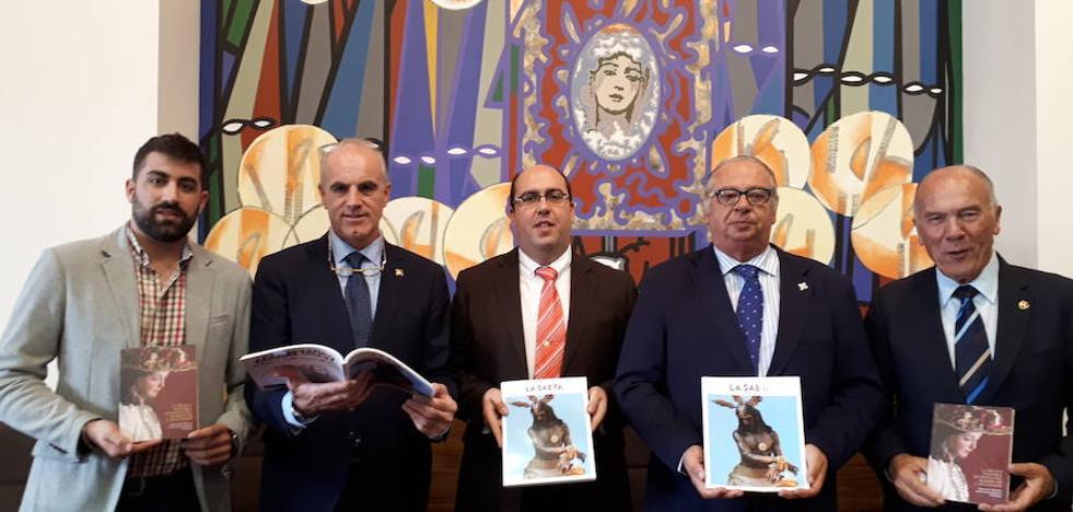 El Cristo de la Columna protagoniza la portada de 'La Saeta de Otoño'