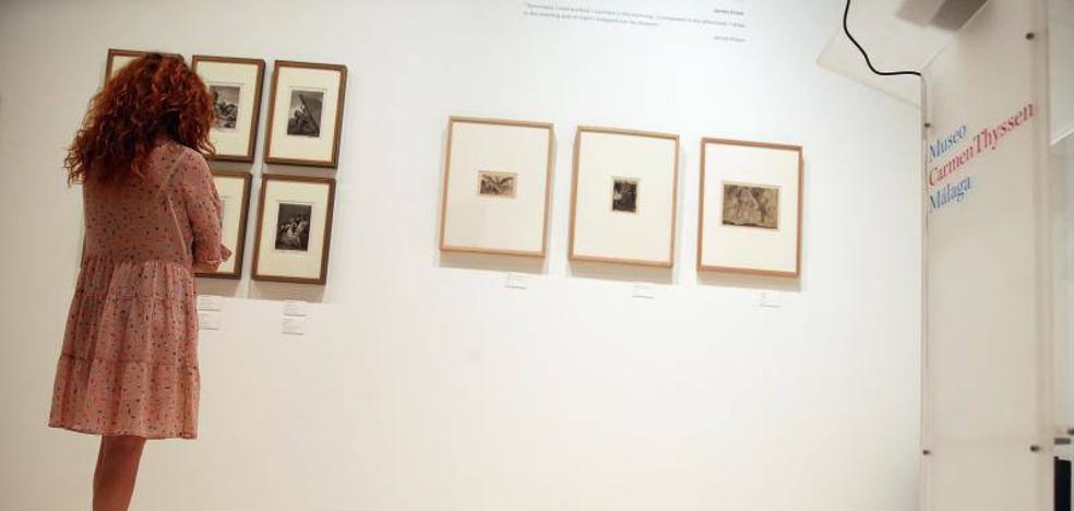 El Thyssen de Málaga se asoma a los abismos de Goya y Ensor