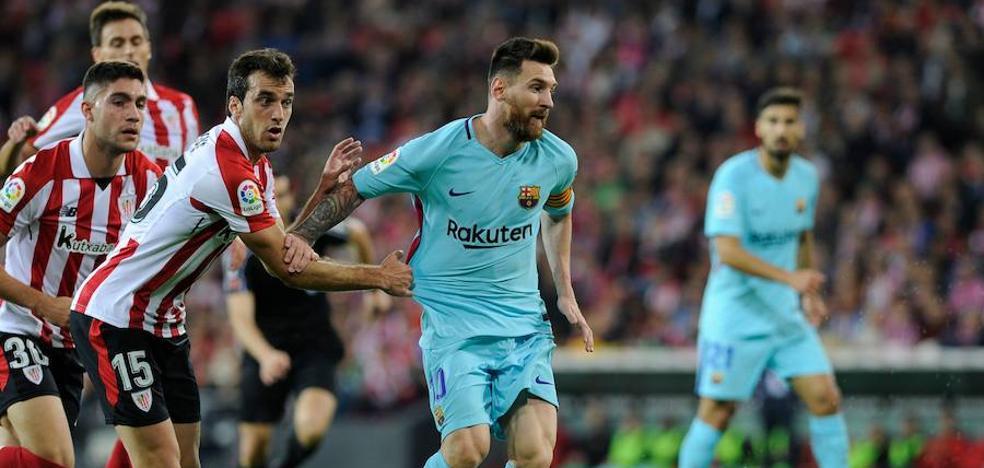 Ter Stegen y Messi sostienen la desconexión del Barça