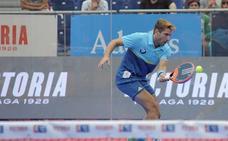 El malagueño Álex Ruiz cae en las semifinales del Open de Zaragoza de pádel