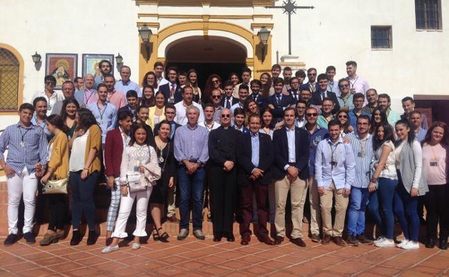 Málaga capital acoge el XXI Encuentro Nacional de Jóvenes Cruceros de la Vera+Cruz