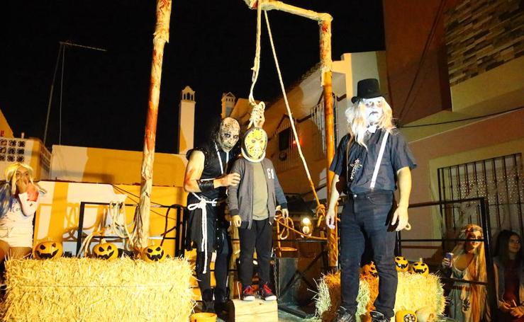 Churriana, distrito fantasma, en Halloween