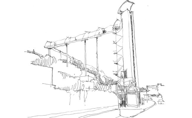 Torremolinos instalará un ascensor panorámico de 30 metros en el Parque de la Batería