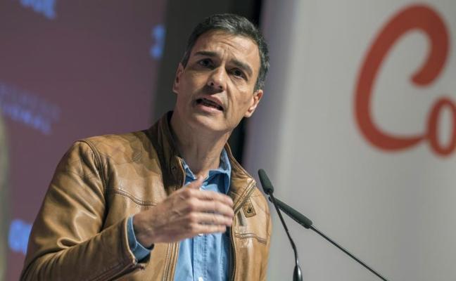 Pedro Sánchez cobra del PSOE 4.100 euros netos al mes, un 28% más que Rajoy