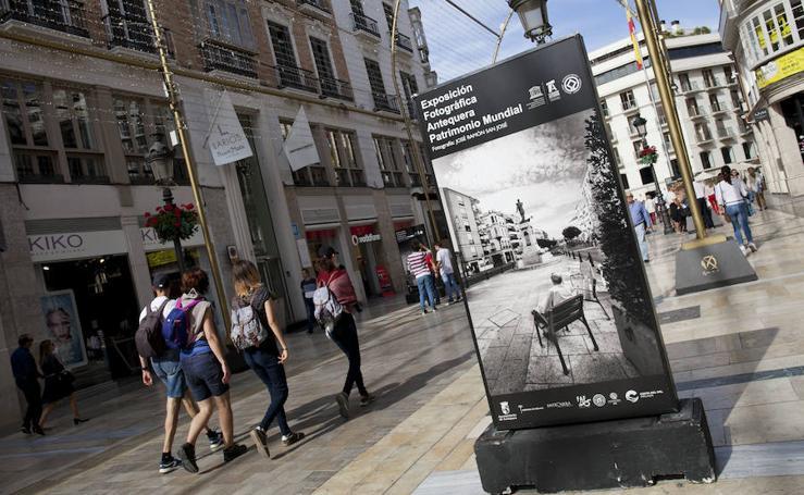 Antequera, Patrimonio Mundial se expone en calle Larios