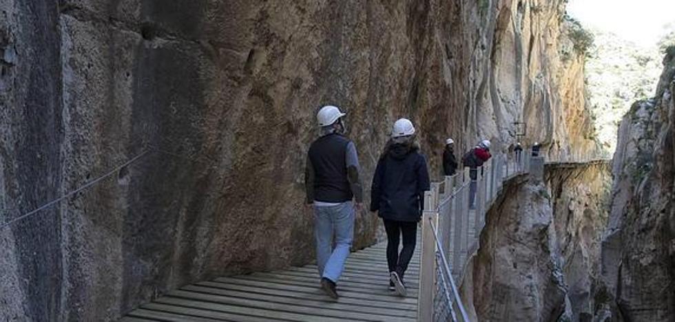 El centro de visitantes del Caminito del Rey comenzará a funcionar en el primer trimestre de 2018