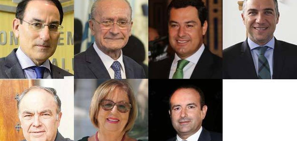 Siete malagueños, entre los más influyentes de Andalucía en 2017