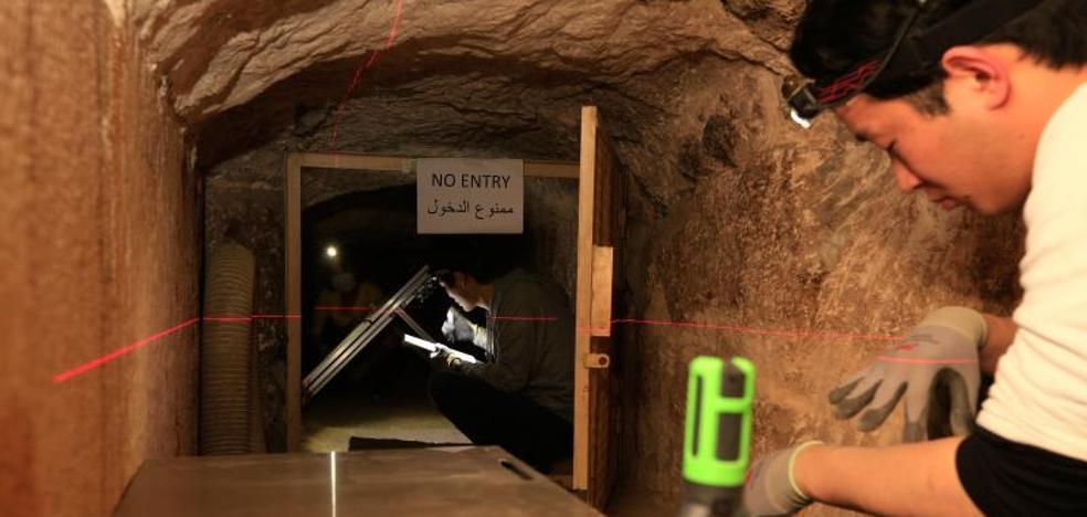 Una técnica 'cósmica' revela una estructura oculta de 30 metros en la Pirámide de Keops