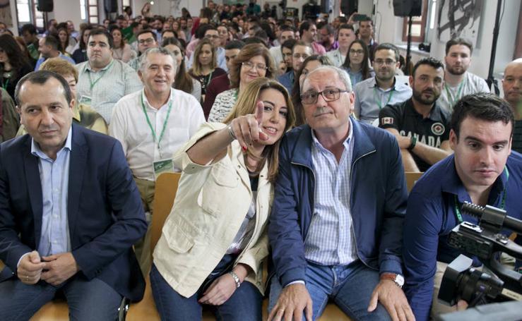 Fotos de la visita de Susana Díaz a Málaga