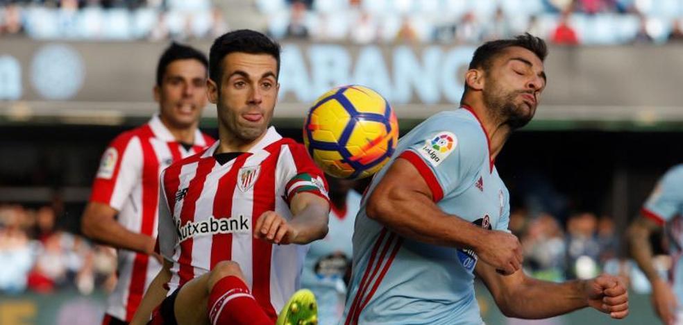 El Athletic encaja en Vigo su tercera derrota consecutiva