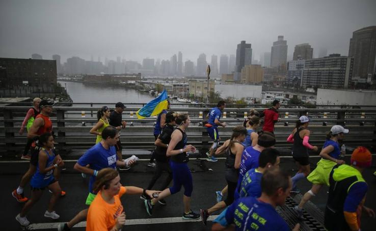 El Maratón de Nueva York, en imágenes