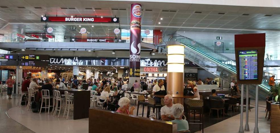 Aena saca a concurso los bares y restaurantes del Aeropuerto de Málaga por cien millones