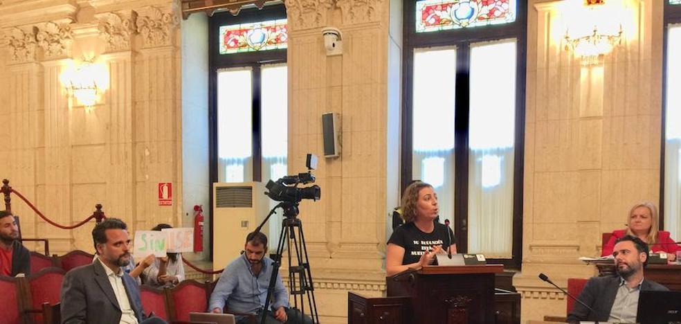 Los alumnos sordos lamentan no haber contado con el apoyo del PSOE en el pleno