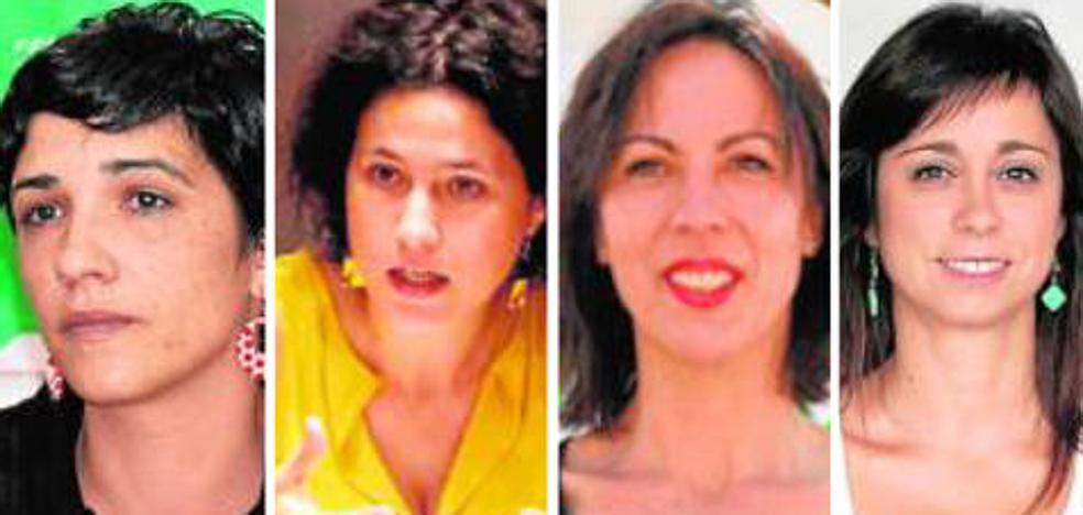 Cuatro malagueñas entran en la dirección de Antonio Maíllo en IU Andalucía