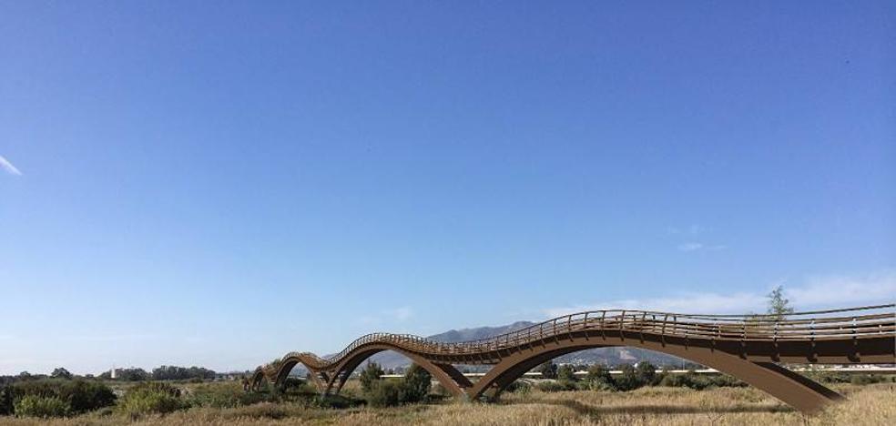 Último trámite para el puente peatonal sobre el Guadalhorce