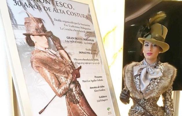 Montesco repasa sus 30 años de trayectoria en un desfile benéfico