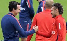 La relación entre Neymar y Emery es cada vez más tensa