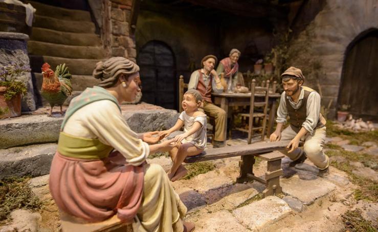Imágenes del Museo de Belenes de Mollina, el más grande del mundo