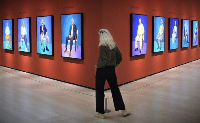 David Hockney, contra la tiranía del 'selfi'
