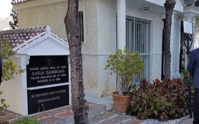 Denuncian el sacrificio de los gatos que visitaban la tumba de María Zambrano