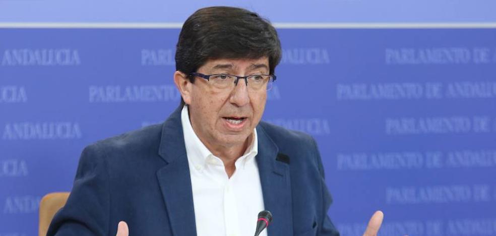 El líder andaluz de C's despeja el camino a la moción de censura con el PP en Nerja