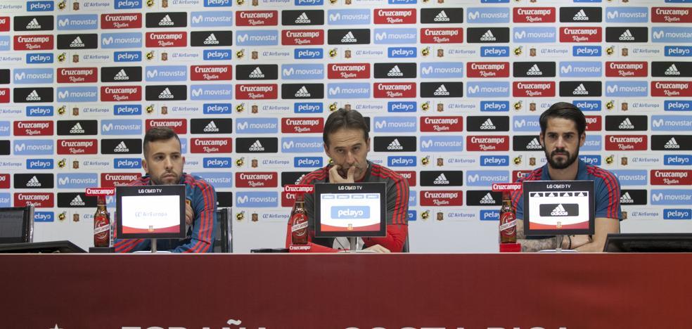 «Para la selección española no existen los partidos amistosos»
