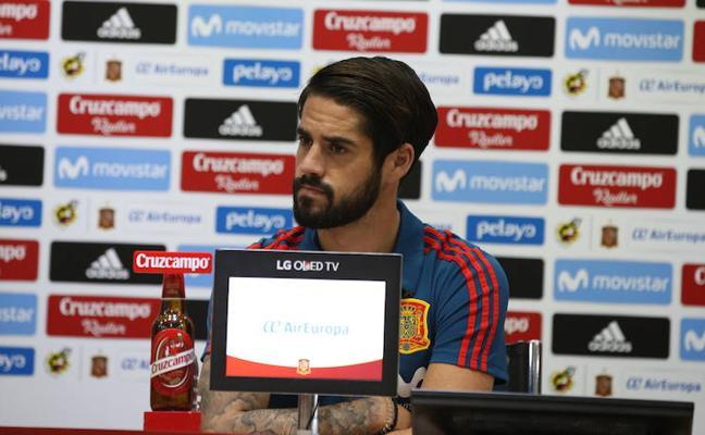 Isco: «Mi juego no ha cambiado mucho desde que salí del Málaga»