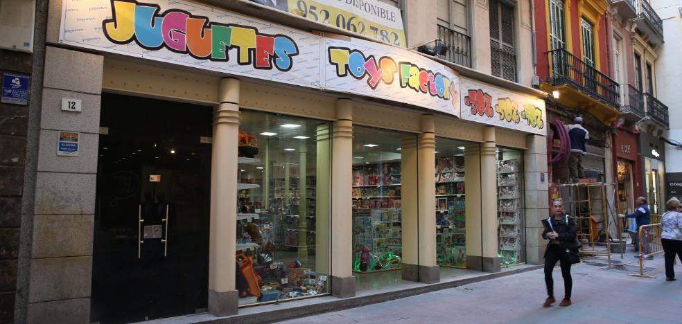 Las jugueterías de Málaga se preparan para la Navidad con la apertura de varias tiendas