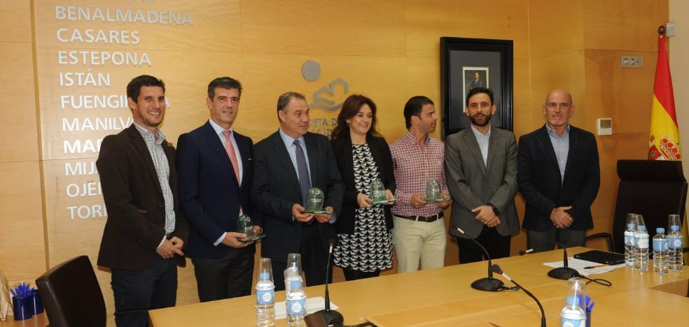 Marbella, Estepona y Torremolinos, premios 'Iglú verde'