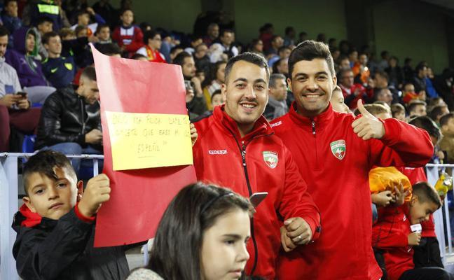 La afición malagueña: «España ganará otra vez el Mundial»