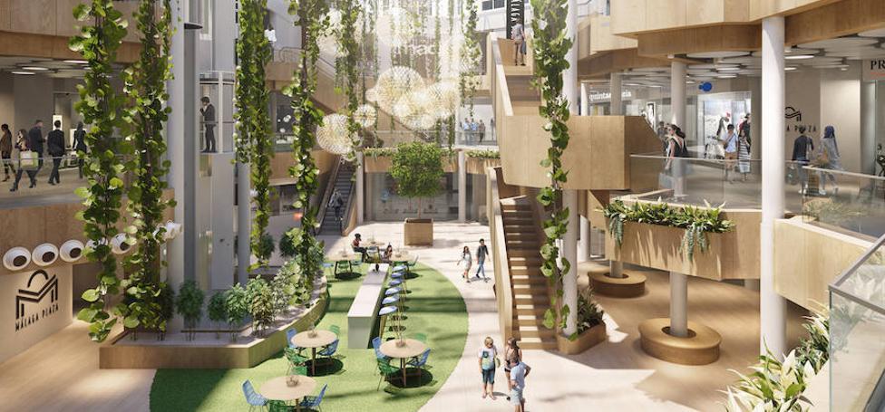 La ambiciosa reforma del Málaga Plaza