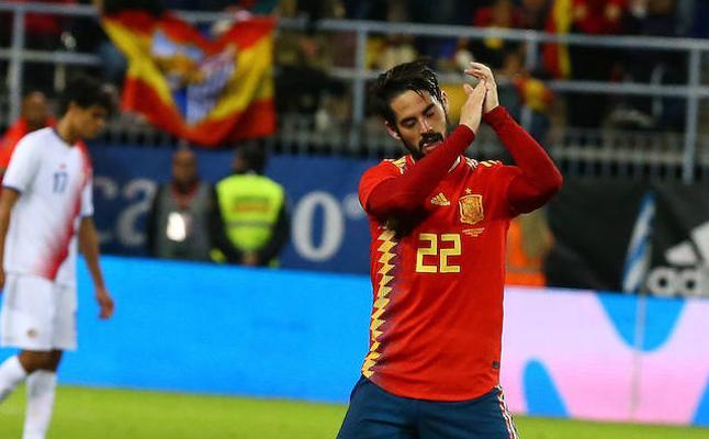 La selección, en deuda con Málaga